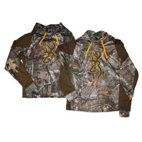 Browning Men's Wasatch Two Tone Performance Camo Hoodie