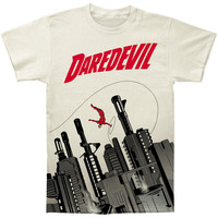 Daredevil Men's  Gun City Subway T-shirt Vintage