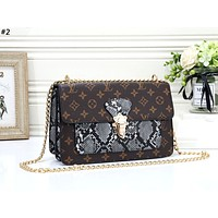 LV new tide brand female chain bag shoulder diagonal package #2