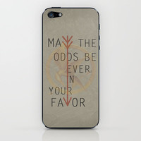 The Hunger Games Poster 02 iPhone & iPod Skin by Misery   Society6