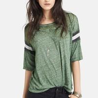 Free People 'Watch Me Shine' Burnout Tee | Nordstrom