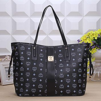 MCM Women Fashion Handbag Tote Shoulder Bag Crossbody