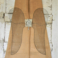 Angel Wing Wall Decor,Angel Wings,Decorative Angel Wings,Wire Angel Wings,Hanging Wings,Shabby Cottage Angel Wings,French Country