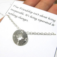 A3 Birthday Gift, Compass necklace friendship best friend birthday gift, compass best friend friendship birthday gift necklace,birthday gift