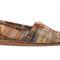 Madras Plaid Men's Biminis US 8.5