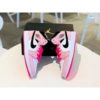 Bunchsun Air Jordan 1 Mid 2019 new women's versatile fashion sneakers shoes