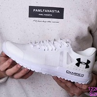 Under Armor An Dema men's trendy casual fashion sports shoes F-TTPP-YDX White