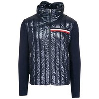 Moncler Men's Outerwear Down Jacket Blouson blu