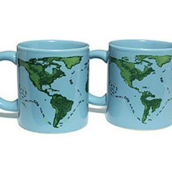 Global Warming Mug - Mug Changes when you Add Hot Liquid - Whimsical & Unique Gift Ideas for the Coolest Gift Givers