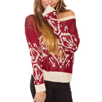 Your Best Sweater - Burgundy