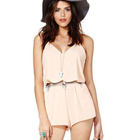 V-neck Backless Spaghetti Strap Romper