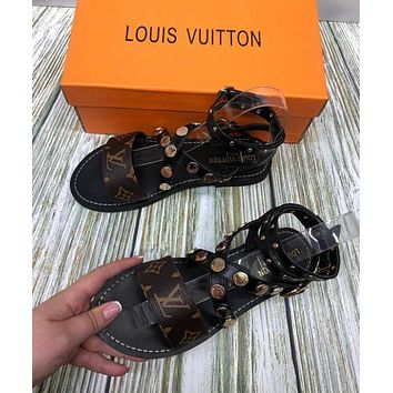 【Louis Vuitton】LV Sandals