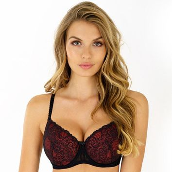 Lace Full Figure Double Mesh Bra Angelic Threads