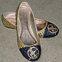 The Hunger Games glitter flat shoes
