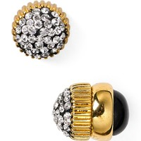 MARC BY MARC JACOBS Pavé Cabochon Magnetic Stud Earrings | Bloomingdales's