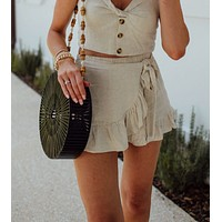 Sail Away Shorts - Natural