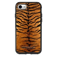 DistinctInk™ OtterBox Symmetry Series Case for Apple iPhone / Samsung Galaxy / Google Pixel - Yellow Black Tiger Fur Skin