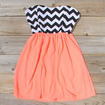 The Mohave Chevron Dress