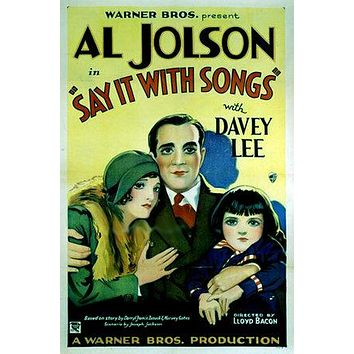 Say It with Songs Poster//Say It with Songs Movie Poster//Movie Poster//Poster Reprint