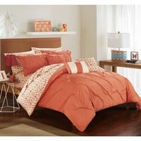 Strick & Bolton Josephine 10-piece Brick Bed in a Bag Comforter Set   Overstock.com Shopping - The Best Deals on Bed-in-a-Bag