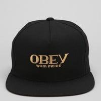 Urban Outfitters - OBEY Milan Strap-Back Hat
