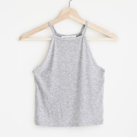 Emme High Neck Crop Cami - More Colors