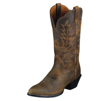 Ariat Cowgirl Womens Heritage Western Brown Boots R Toe