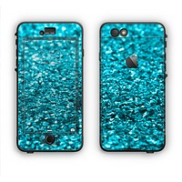 The Turquoise Glimmer Apple iPhone 6 LifeProof Nuud Case Skin Set