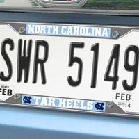 "UNC University of North Carolina license plate frame 6.25""x12.25"""