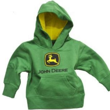 John Deere Little Boys Hooded Sweatshirt Kelly Green