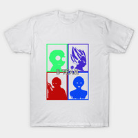 Vintage - Side-kicks For The Millenials - Morty, Vegeta, Michael Wheeler, and Cortana by ay_alet