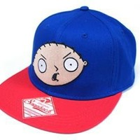 Family Guy Stewie Blue Snapback
