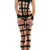 Strapped Down Bondage Set