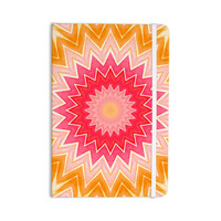 "Iris Lehnhardt ""You are my Sunshine"" Pink Orange Everything Notebook"