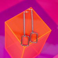 Don't Be A Square Earrings