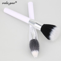 187 Duo Fibre Face Stipple Brush Multipurpose Makeup Brush For Foundation Powder Blusher