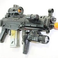 Double Eagle M82P Full & Semi Automatic Airsoft Assault Rifle Laser Sig 552