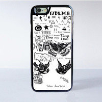 One Direction Harry Styles Tattoos iPhone 6S Case