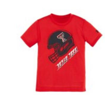 Under Armour Boys' Pre-School Texas Tech Helmet T-Shirt