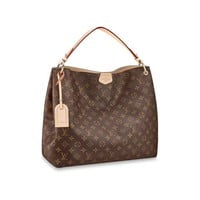 DCCK Louis Vuitton Monogram Canvas Graceful MM Beige Article:M43704 Made in France