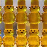 Honey Bear Wedding Favors - 100 Adorable 2 oz. Treats for Your Wedding Guests from Lee the Beekeeper