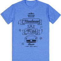 Handsome And Rich | T-Shirt | SKREENED