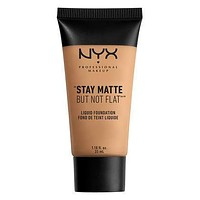 NYX Stay Matte But Not Flat Liquid Foundation - Golden Beige - #SMF08