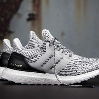 "ADIDAS ULTRA BOOST 3.0 SHOES ""OREO"" S80636 US MENS SZ 4-11 kanye"