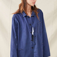 Vintage French Workwear Chore Jacket   Urban Outfitters