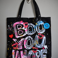 Mean Girls - BOO YOU WHORE Tote Bag