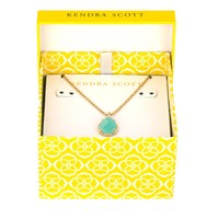 Kiri May Birthstone Necklace in Green - Kendra Scott Jewelry