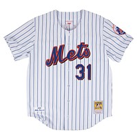 Mitchell & Ness Mike Piazza 2000 Authentic Jersey New York Mets In White