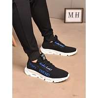 prada men fashion boots fashionable casual leather breathable sneakers running shoes 131