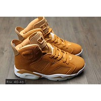 """Nike Air Jordan 6 Ⅵ"" Men Running Sport Casual Breathable Boots Basketball Shoes Sneakers"